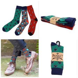 Men's Fancy Socks! 3 pack assorted.
